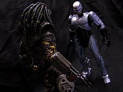 Robocop Vs. Predator (Police-Box-Traveler) Tags: toys action scout predator figures robocop neca