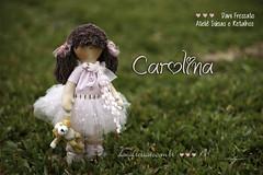 Bailarina Carolina (Dani_Fressato) Tags: doll artesanato craft boneca patchwork bailarina tecido trabalhomanual ideias retalhos danifressato
