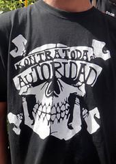 Tirso de Molina (Fotos de Camisetas de SANTI OCHOA) Tags: calavera antiautoridad