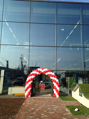 Ballonboog 6m Innovatie Centrum Duurzaam Bouwen Rotterdam