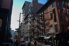 SoHo, New York City (tomweidlein) Tags: city nyc urban usa ny newyork fire nikon iron escape manhattan cast d7000