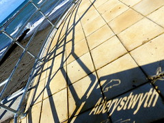 24 September 2014 - Our Town (penny_chicken) Tags: shadows aberystwyth promenade seafront