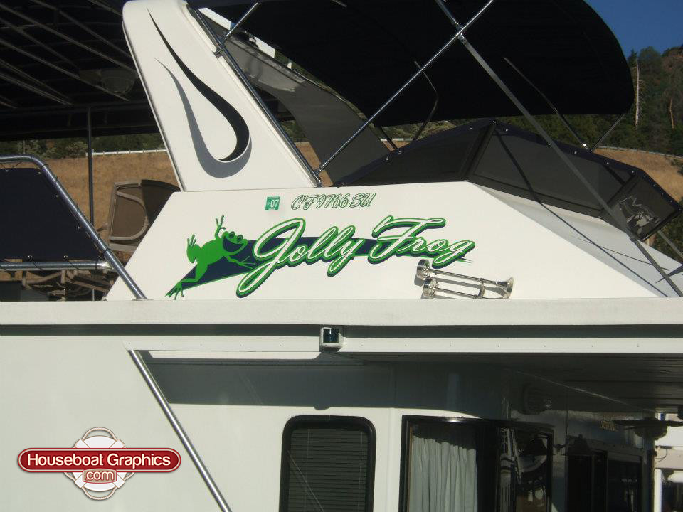 The Worlds Best Photos Of Houseboat And Houseboatgraphics - Houseboat decals