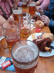 Beer and hacksen!