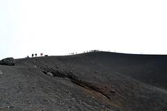 Mt. Etna (gnamooo) Tags: mountain silhouette clouds trekking trek volcano nuvole hiking sicily etna montagna sicilia vulcano
