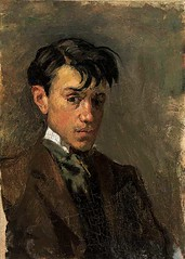 [ P ] Pablo Picasso - Self-portrait (1896)