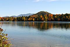 Lake Placid (dianecordell) Tags: autumn nature leaves lakes september foliage newyorkstate lakeplacid keenevalley