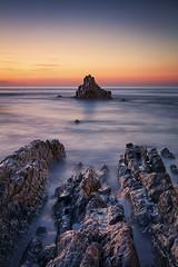 Sopelana sunset (GKooijman70) Tags: sunset beach strand landscape zonsondergang spain basque spanje landschap baskenland sopelana