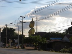 Roadside Buddha - Road to Sukothai_4 - Thailand (ashabot) Tags: street travel sculpture thailand buddha buddhism roadside wat streetscenes lightanddark sukhothai