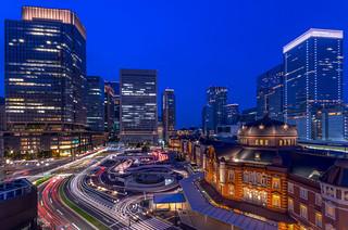 Grand Tokyo in Twilight Blue