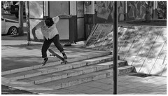F/s No Comply (AgustnCarrillo) Tags: argentina la code skateboarding no ska lucas 180 skate sk8 frontside fs chubut codesal floridita trelew flori comply