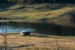The Great Outdoors (Rikardo daVinci) Tags: new camping lake holiday water wales landscape outdoors fishing dam south scenic australia nsw newsouthwales recreation