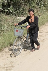 Woman in Rural North Hwanghae Province North Korea (Ray Cunningham) Tags: rural farm farming north korea province dprk coreadelnorte hwanghae