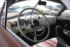 Chevrolet 1948 Interior (Drontfarmaren) Tags: pictures classic cars 1948 chevrolet vintage iron sweden interior american custom v8 bilder eskilstuna nats dragrace dragway 2014 blacksmiths galleri bilträff kjula drontfarmaren finbilsparkering