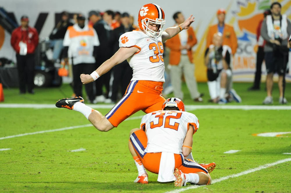 Clemson Photos: 2014, Bowl  Game, Chandler  Catanzaro, Football, ohiostate