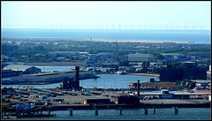 Views from Liverpool cathedral tower (exacta2a) Tags: buildings towers cathedrals birkenhead liverpoolmerseyside