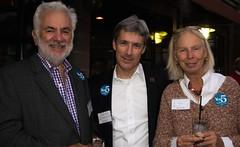 Russ Ricci, Peter Mello and Carla Ricci (Photo by Jen Bonin)