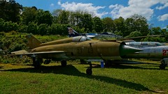 Mikoyan-Gurevich MiG-21MF in Savigny-les-Beaune (J.Com) Tags: france les museum force aircraft aviation air musee chateau mig beaune gurevich mikoyan savigny