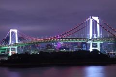 2014Rainbow Bridge (ELCAN KE-7A) Tags: bridge pink japan tokyo bay pentax   ribbon 2014    k5s