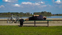 Pause :) (de la rey) Tags: river break sleep rest pause