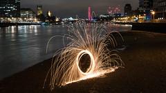 Looks like a catherine wheel 1 (Claymore55) Tags: lightpainters london meetup nikond750 steelwoolspinninglightpainting