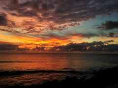Puerto Rico is on fire! (:)Gloria:)) Tags: sunsetwbc2017aguadillapuertoricooceanfront