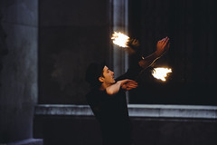 Fire Performers - Palais de Tokyo - 04/02/3017 (Just an archive for my photos) Tags: fireperformance fireperformer paris palaisdetokyo