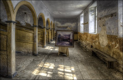 The Stables (Darwinsgift) Tags: stables calke abbey derbyshire national trust nikkor pc pce 19mm f4 ed mf e hdr photomatix multiple exposure tripod light horses nikon d810