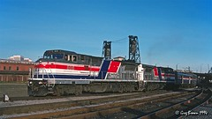Wish it had lasted longer (C.P. Kirkie) Tags: amtrak amtk coaststarlight pdx portland portlandunionstation ge generalelectric passengertrain trains railroads oregon portlandoregon rosecity