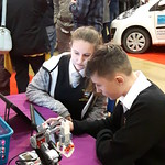 Robot programming with City College Plymouth