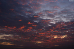 Dramatic sunset (kana movana) Tags: sky clouds sunset dusk gloaming dramatic vivid colorful fineart artistic