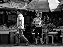 Simon says...... (Beegee49) Tags: street stand fruit filipina mother daughter stares bacolod city philippines streetphotography