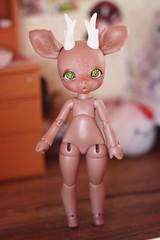 <3 (v a n ♡ r i) Tags: bjd ball jointed doll dollsoom soom gem petit petitgem pet animal deer cute sweet brown tan skin ts soomdoll