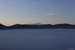 Not clear (lbencini) Tags: castellucciodinorcia umbria marche hills mountains landscape landscapephotography nature countryside fog foggy montevettore june earlymorning sunrise sunny sun plateau peace calm wow