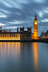 Big Ben at night (catchapman44) Tags: sky reflections longexposure canon5dmarkiii architecture building landscape photography scenic street winter night twilight surreal sunset dusk city england london housesofparliament riverthames streetlights thepalaceofwestminster river water outdoors