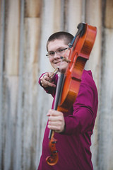 shoot that bow! (KieraJo) Tags: 100mm 28 canonef100mmf28macrousm bokeh canon 5d mark 3 iii 5d3 fullframe dslr american west heritage center logan utah cache valley wellsville senior portrait portraits young man teenage boy barn wood background violin orchestra hobbies lifestyle