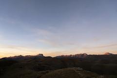 Rocca Calascio (chiarafcirillo) Tags: gran sasso abruzzo italia italy montain linea scia bianca sky tramonto sunset paesaggio gransasso colore natura