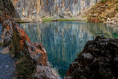 464A3694F (Cilmeri) Tags: bluelake friog fairbourne lakes wales water snowdonia eryri gwynedd reflections quarries slatequarries