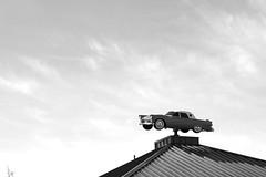 Tricky parking spot. (M.B.T.) Tags: nova scotia