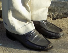 Florsheim Loafers (Michael A2012) Tags: florsheim loafers leather upper sole lining usa grey