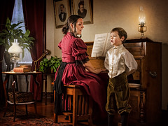 Songs My Mother Taught Me (Repp1) Tags: alexis architecture bc canada holden songsmymothertaughtme stewartfarm surrey victorian antique heritage historic mother piano singing son mère fils chanson chanter clavier chansonsquemamèremapprenait