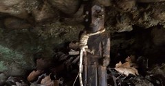 They Found This Statue In The Woods And From The Looks Of It, The Thing's Cursed (doyenalain) Tags: catskills chrone creepy demonic doll dolls freaky haunted haunteditem michaelcahill newyork omg scary upstatenewyork