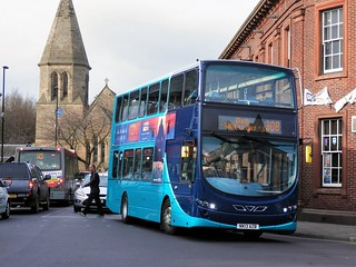 Arriva North East 7802 / NK13 AZB.