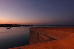 DSC00799_ (daniloorlando) Tags: salento sea puglia harbour view sunset rocks otranto