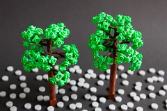 Trees for LegoNYC (sponki25) Tags: lego tree robot arms flower stem leaves legonyc