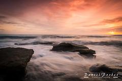 DSC_0040-1 (forbesy10) Tags: sea seascape waves tide sunrise clouds coast seatonsluice rocks northumberland