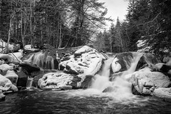 Pockwock Falls (Wen879) Tags: bw canon70d pockwockfalls sigma1020mmf456 snow water waterfall upperhammondsplains novascotia canada