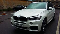 Glasgow, Scotland, UK - SC65 YHE - BMW X5 (Flavio1179F) Tags: car bmw x5 uk scotland glasgow white british scottish license plate