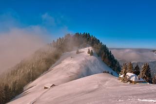 Swiss winter paradise, Paradis hivérnale suisse ,   Alpes Vaudoises  . Canton of Vaud.Fix You  No. 6036.