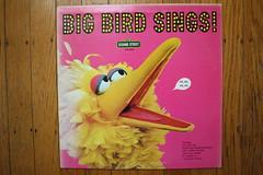 Big Bird Sings! (Sesame St. Records 1974) (Donald Deveau) Tags: record lp tvshow bigbirdsings bigbird sesamestreet muppets jimhenson